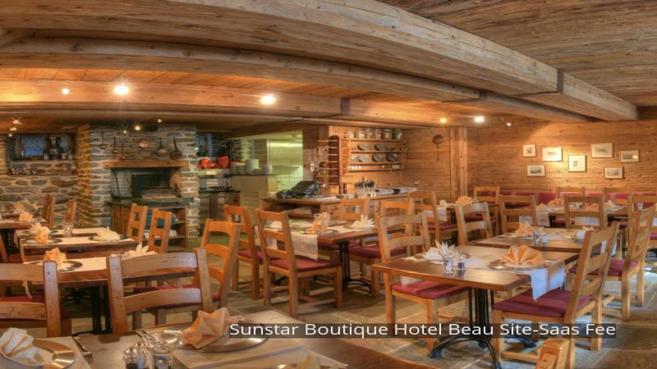 Sunstar Boutique Hotel Beau Site Saas Fee