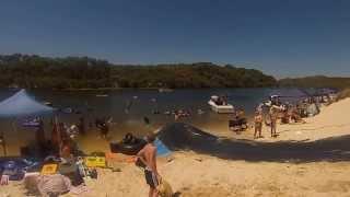 Moore river Australia day 2014
