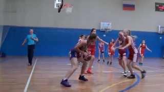 Баскетбол Видное - Островцы девушки 2003гр товарищеский матч