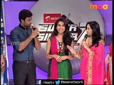 Hemachandra Proposing to Sravana Bhargavi in Supersinger 7
