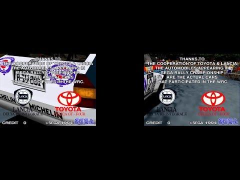 Sega Rally Championship Twin Attract Mode