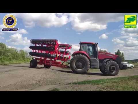 Обработка почвы посредством лущения PEGAS Opall-Agri