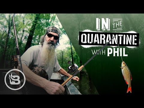How To Fish To Survive And Keep Faith In Times Of Panic | In The Quarantine With Phil