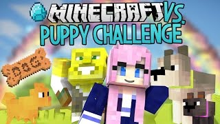 Puppy Challenge | Modded Minecraft VS.