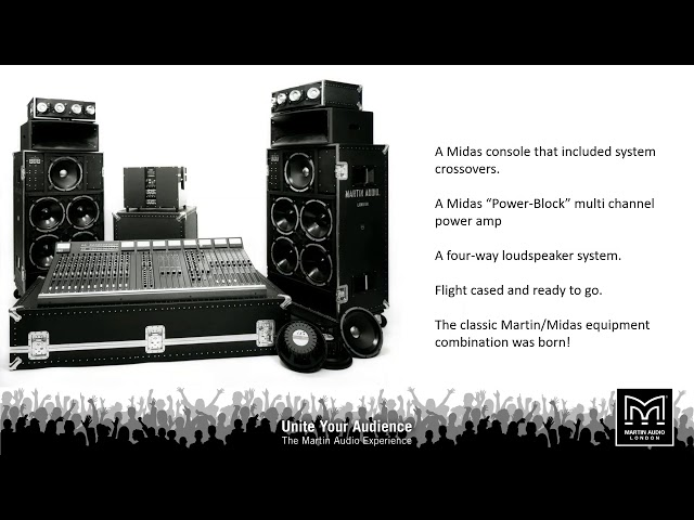 Martin Audio History 1971-2020 - Webinar