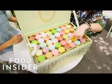 $900 Treasure Chest Filled With 200 Ladurée Macarons