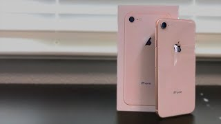 iPhone 8 Unboxing! (Gold, 256GB)