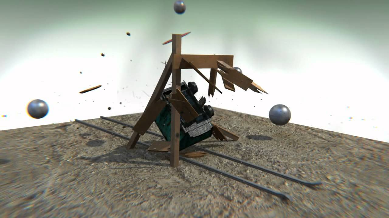 Bridge Destruction - Dicing Engine - YouTube