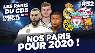 NOS PARIS 2020 By WINAMAX 🏆 (Champions,Meilleur Buteurs,Podium) - LES PARIS DU CD5 BY WINAMAX - #52