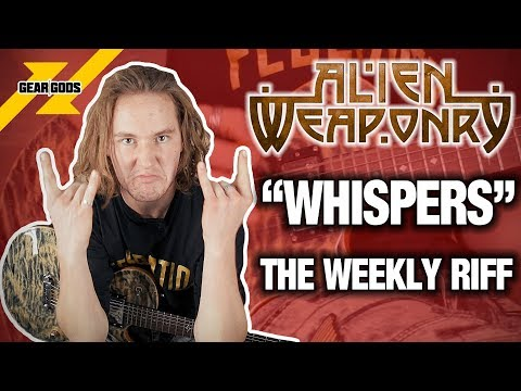"The Weekly Riff: ALIEN WEAPONRY's Lewis de Jong Demonstrates ""Whispers"" 