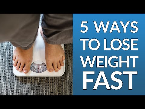 How To Lose Fat Fast – 5 Simple Ways