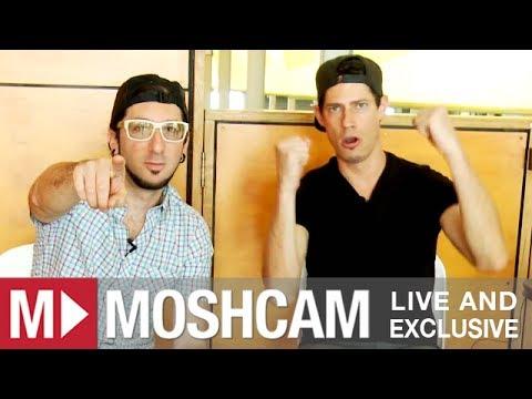 Big Gigantic talk smoking crack, Macklemore and phone sex (at Big Day Out) | Moshcam