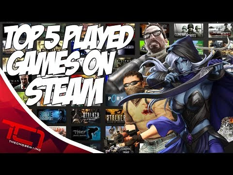 Top 5 MOST PLAYED STEAM GAMES - 2017