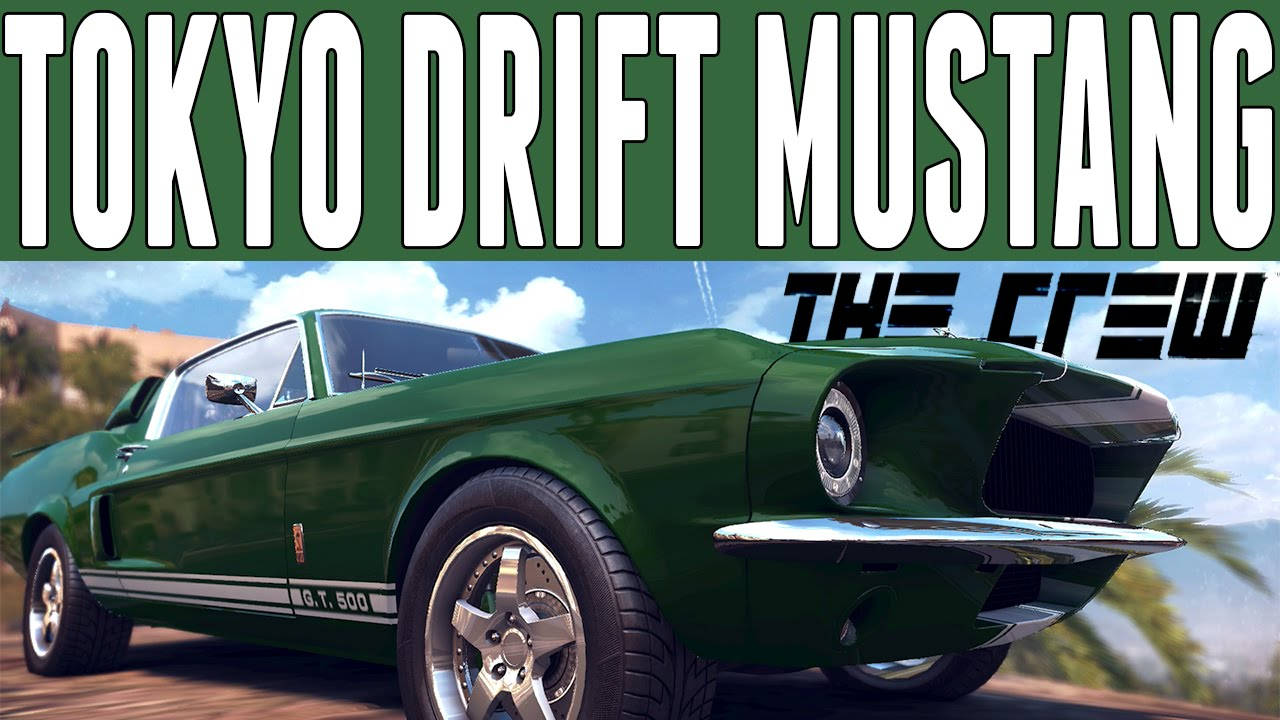 The Crew Fast Amp Furious Car Build Ford Mustang Shelby