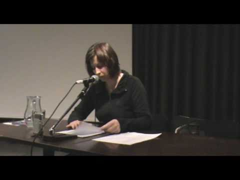 Kunst und Kapitalismus 20.11.2010: Lesung Kathrin Röggla