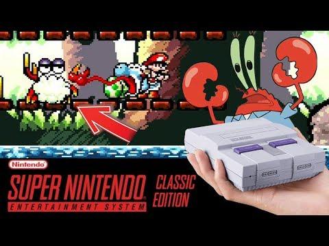 DON CANGREJO Y SU BI BU BU BIP - YOSHI'S ISLAND #5 Super Mario World 2   SNES Mini - ZetaSSJ