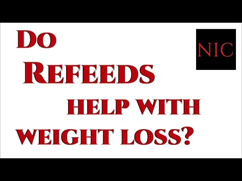SQ 3: Do REFEEDS help with WEIGHT LOSS?