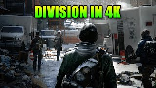 The Division PC Features - At 4k 60fps