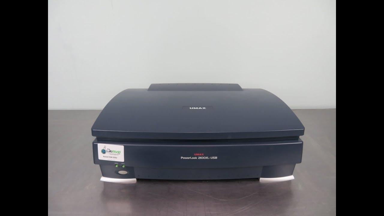 UMAX Scanner PowerLook 2000 Driver Windows