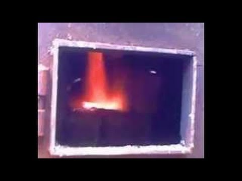видео: Самодельный пиролизный котел  в теплице