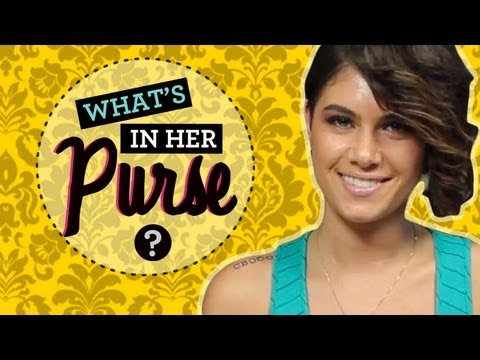 Leah LaBelle Interview-- What's in Her Purse!