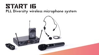 ANT presents START 16 wireless microphone system