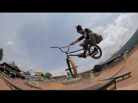 CULT BMX TEAM DESTROYS WOODWARD