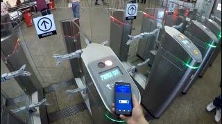 Как пройти в метро через IPhone? Без карты Тройка