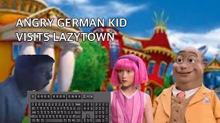 AGK Episode 280: Angry German Kid Visits LazyTown