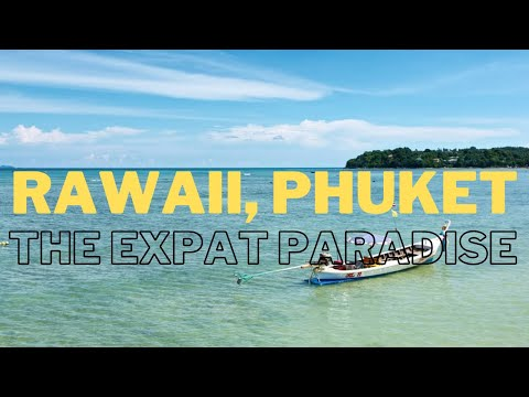 A GLIMPSE OF RAWAI IN PHUKET , THAILAND - JANUARY 2021