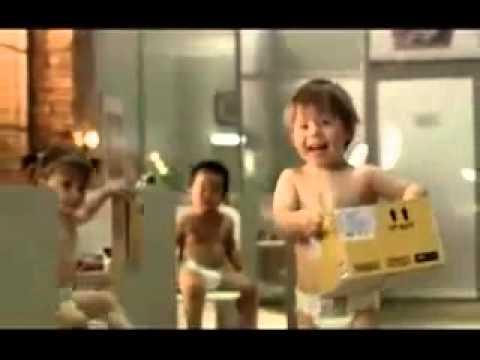Những quảng cáo kinh điển- Huggies