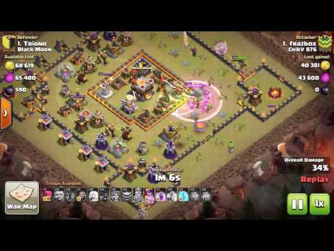 TH10 vs max TH11 Nemesis Base Layout