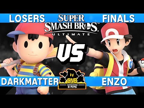 Smash Ultimate Tournament Match WATCH UNTIL END! - Darkmatter (Ness) v Enzo (Pokemon Trainer) CNB176