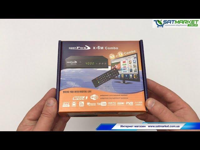 Видео обзор OpenFox S2 X-6 METAL COMBO