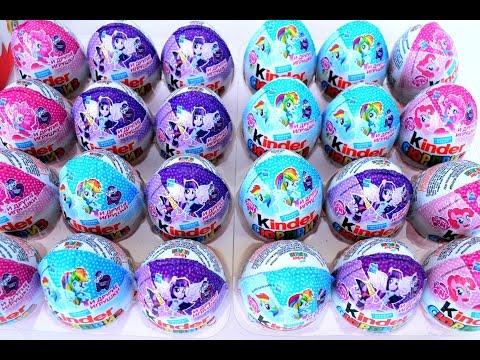 Пак Kinder Surprise My little Pony   Equestria Girls- pack Киндер Сюрприз Surprise My little Pon