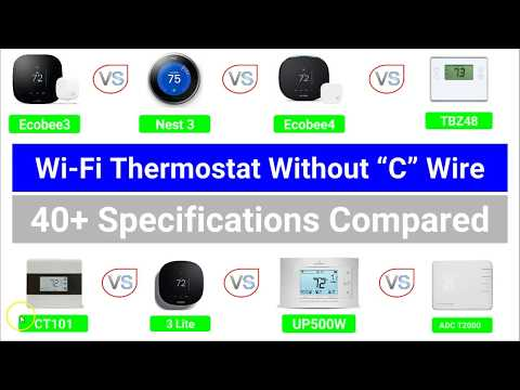 """Best Wi-Fi Thermostat (That Work) Without A """"C"""" Wire"""