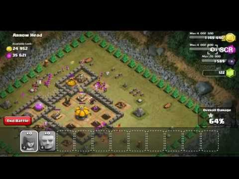 Clash Of Clans Goblin City //Arrow Head