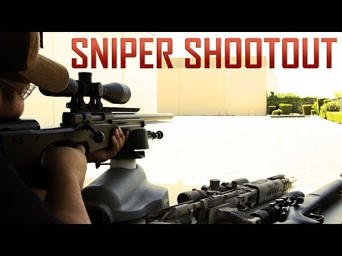 Sniper Rifle Shootout! - Airsoft GI