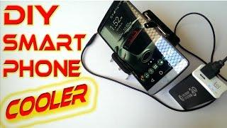 Smartphone Accessories  - DIY Smartphone cooler