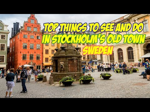 Top 10 Things To See And Do in Stockholm's Old Town, Sweden ● The Best Tourist Destination