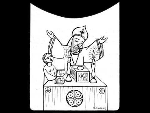 1-عظة عن سر الافخارستيا 17-5-2013