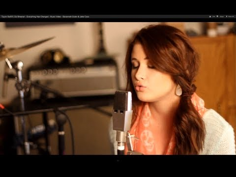 Taylor Swift ft. Ed Sheeran - Everything Has Changed - Music Video - Savannah Outen & Jake Coco