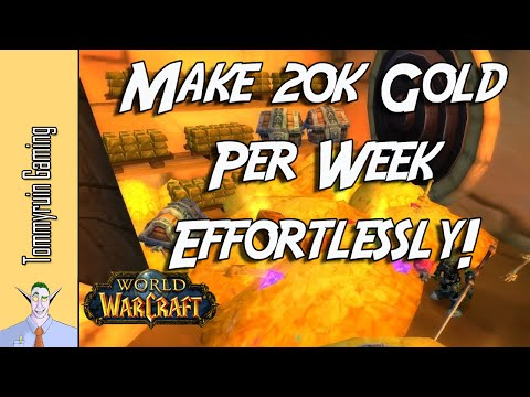 [WoW] 5 Ways To Effortlessly Make Goldcap Before Legion