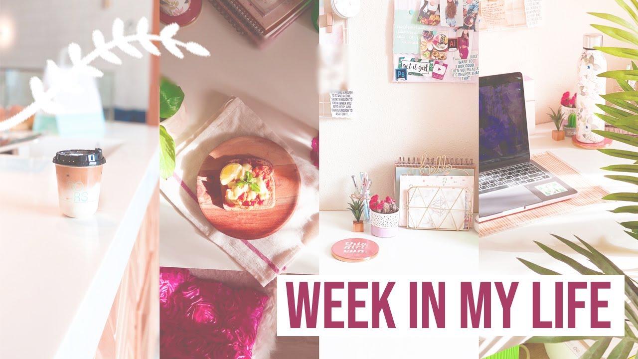 أسبوع في حياتي: روتيني الصباحي، مشترياتي ديكور وفاشن، تنظيف عميق لغرفتي والنتيجة النهائية