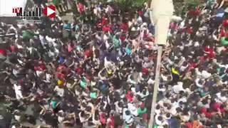 مظاهرة لطلاب «الثانوية العامة» أمام مجلس الشعب