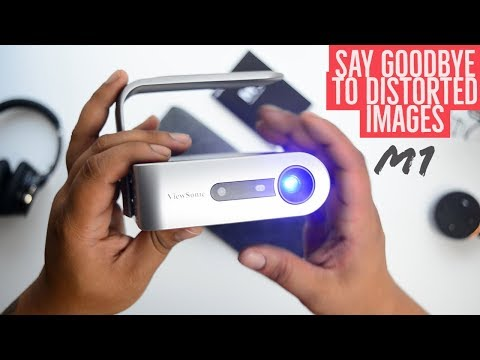 Viewsonic M1 A Great Portable Projector - Perfect For Lazy Sundays!