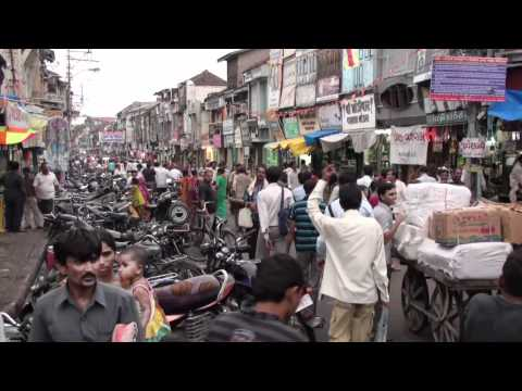 The market of Bhavnagar (Gujarat - India)