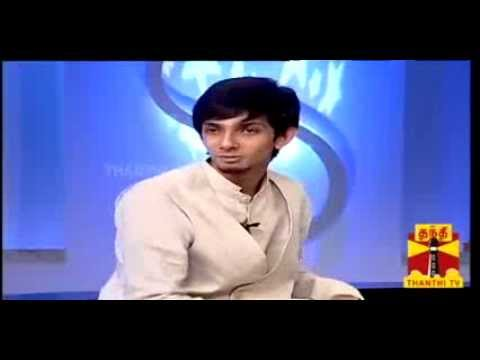 Anirudh speaks about his Love