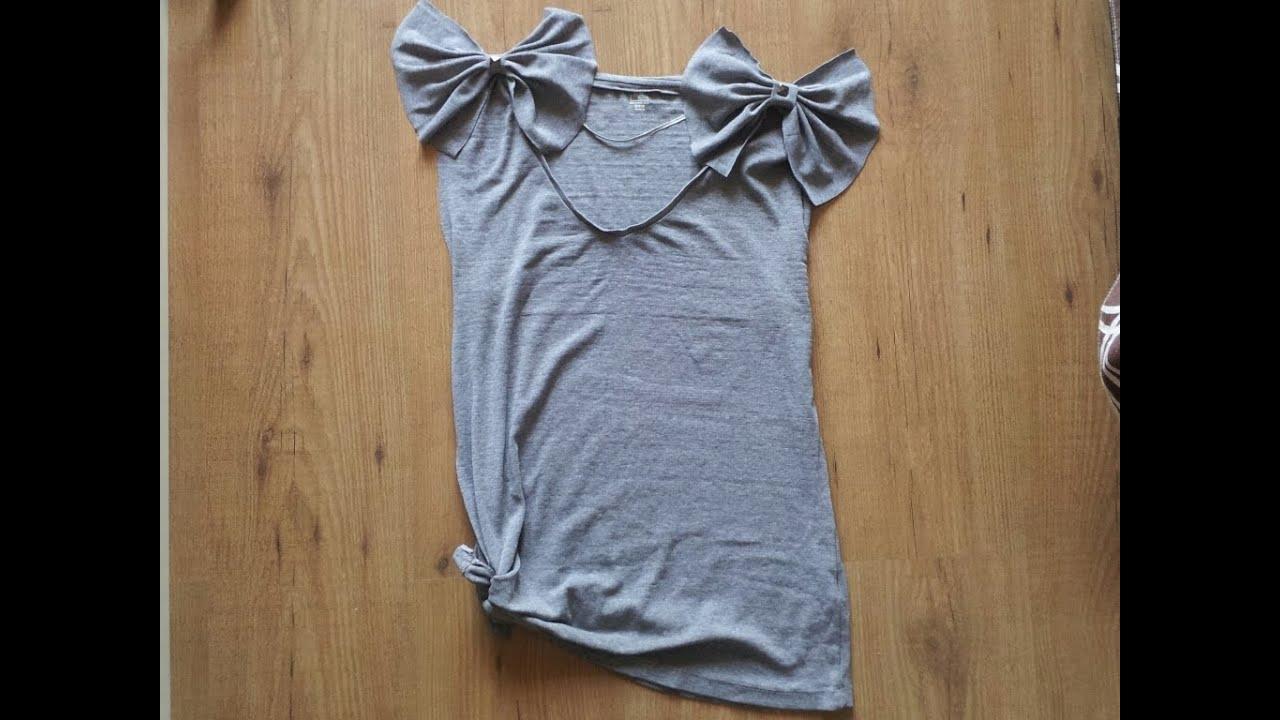 C mo renovar una camiseta vieja diy - Como empapelar una pared con gotele ...