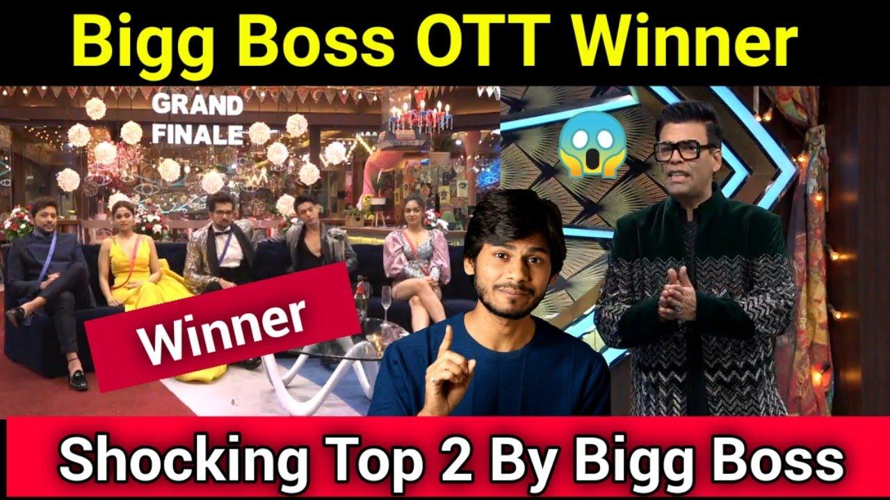 Bigg Boss 15 OTT Winner , Shocking Announcement Top 2, BB OTT Grand Finale